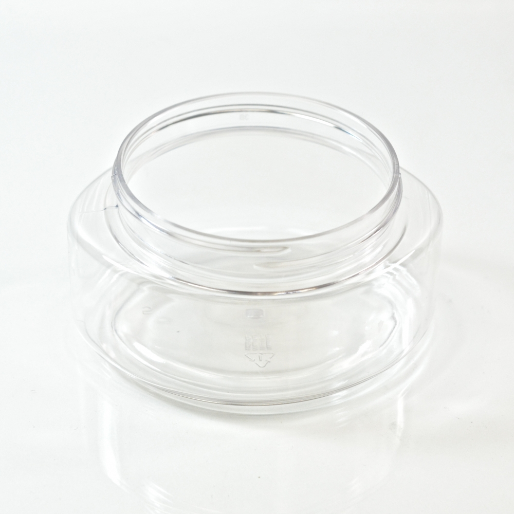 6 oz 70/400 Palermo Oval Clear PET Jar