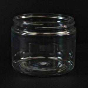 Plastic Jar 6 oz. Straight Sided PET Clear 70-400_1375