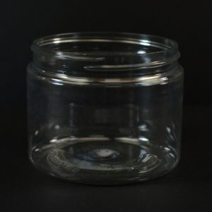 Plastic Jar 6 oz. Wide Mouth Clear PET 70-400_1374