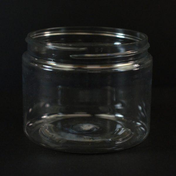 Plastic Jar 6 oz. Wide Mouth Clear PET 70-400_1374