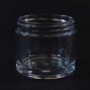 Plastic Jar 75ml Heavy Wall Clear PETG 58-400_1510