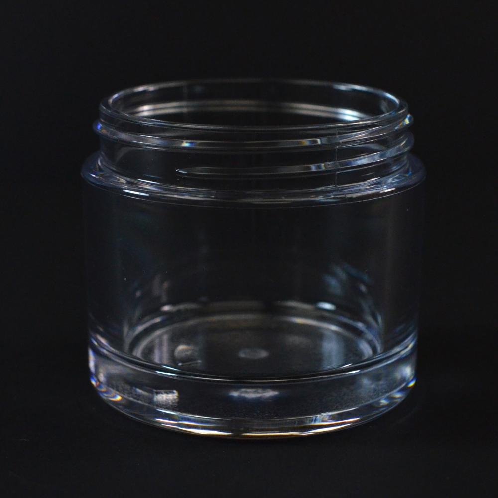 75 ML 58/400 Heavy Wall Clear PETG Jar