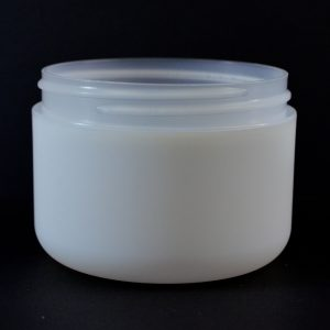 Plastic Jar 8 oz. Double Wall Round Base IMF PP-PS 89-400_1184