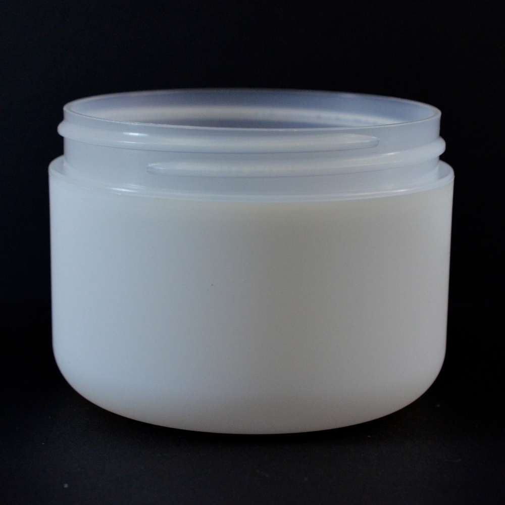 8 oz 89/400 Double Wall Round Base IMF PP Jar