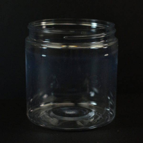 Plastic Jar 8 oz. Wide Mouth Clear PET 70-400_1379