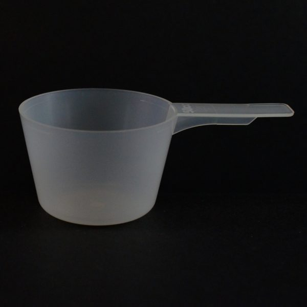 Plastic Measuring Scoop Spoon 50cc Natural Short Handle_3687