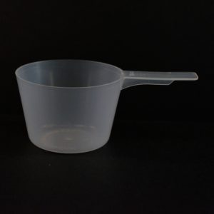 Plastic Measuring Scoop Spoon 70cc Natural Short Handle_3692