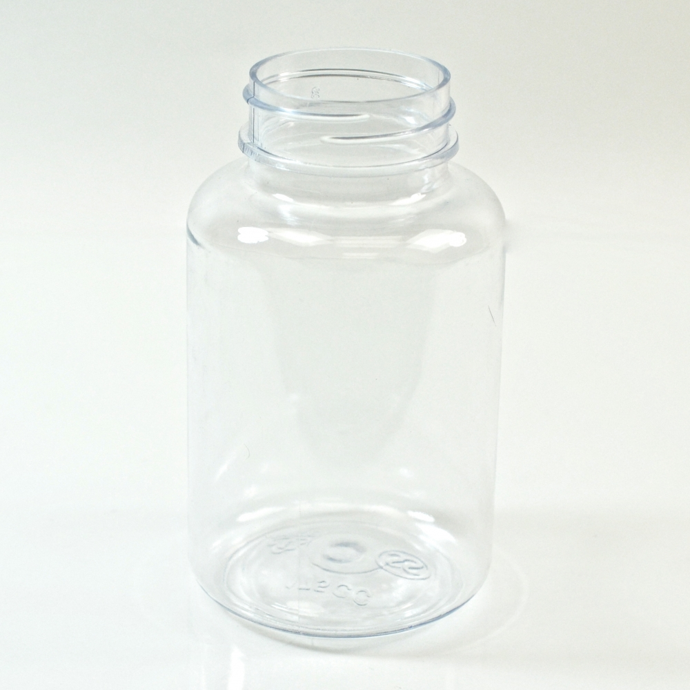 150CC Clear Nutritional Supplement Packer PET 38/400