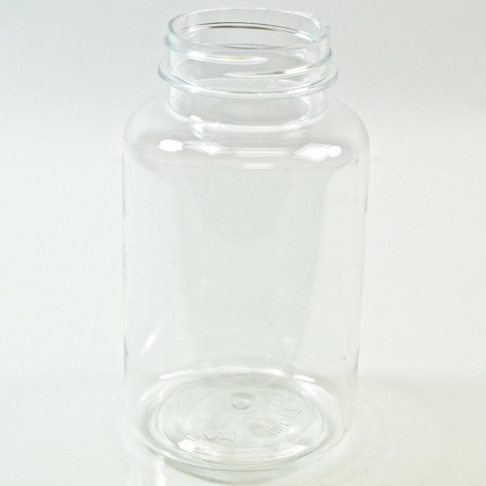 250CC Clear Nutritional Supplement Packer PET 45/400