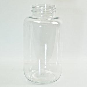 Plastic Pharma Packer 500ml 53-400 PET Clear_3158