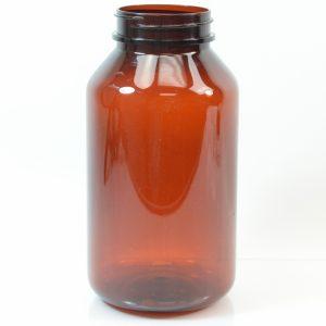 Plastic Pharma Packer 625ml 53-400 PET Amber (1)_3140