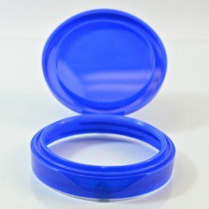 Plastic Symphony Jar Lid 70mm Blue_1865