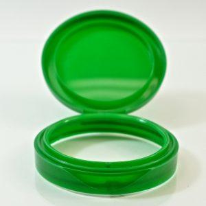 Plastic Symphony Jar Lid 70mm Green_1866