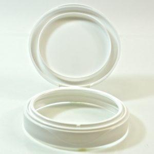 Plastic Symphony Jar Lid 70mm White_1868