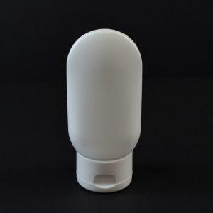 Plastic Tube 2 oz. Princess Oval HDPE White 22-400_2962