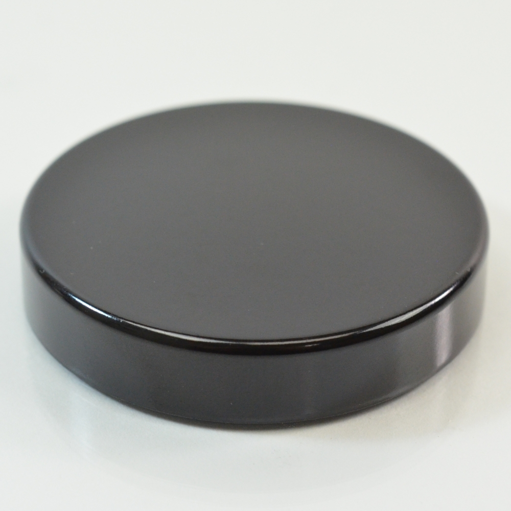 Powder Cap Black Phenolic FIT 2 oz.