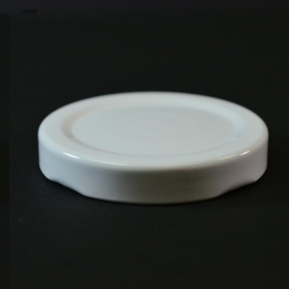 53/2020 Regular Twist Open with Button White Metal Cap / Plastisol Liner