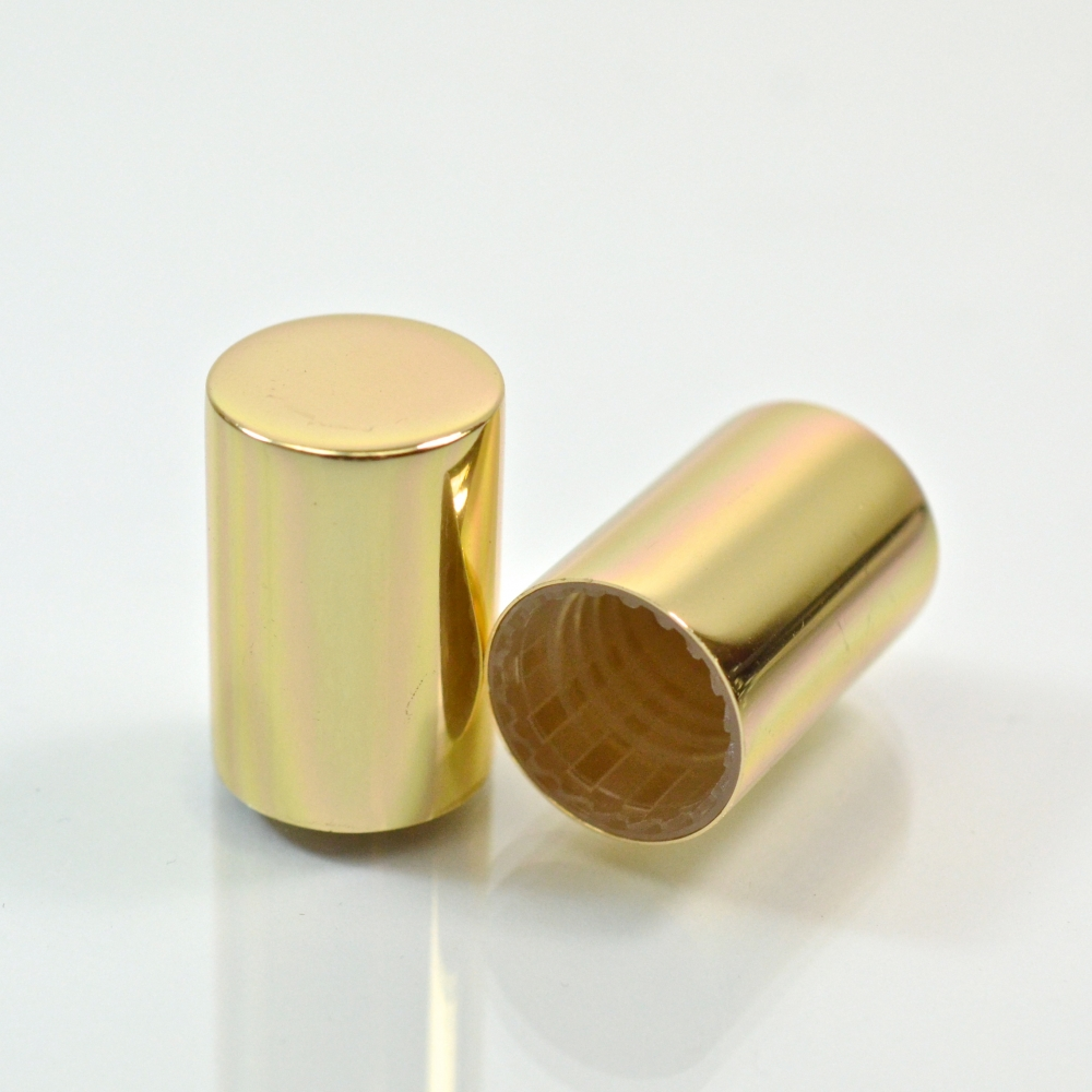 16.0mm GPI Special Medellin Shiny Gold Roll On Cap