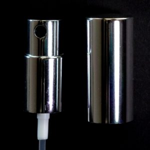 Spray Pump 18-415 Black with Shiny Silver Collar-Hood_1656