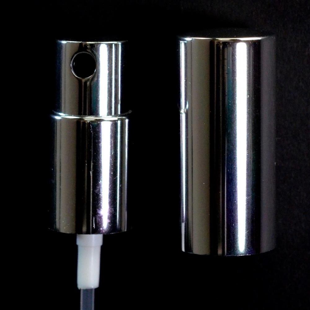 18/415 Fine Mist Sprayer Shiny Silver/Black/Shiny Silver Hood