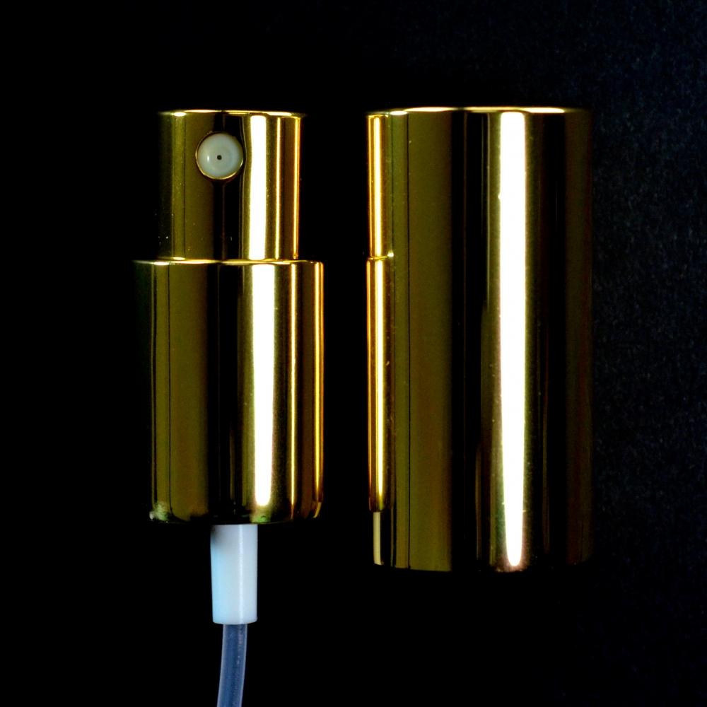 18/415 Fine Mist Sprayer Shiny Gold