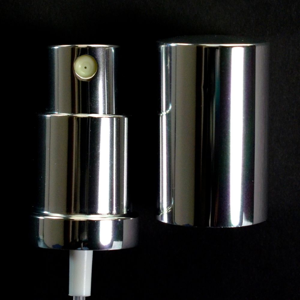 18/415 Fine Mist Sprayer Shiny Silver