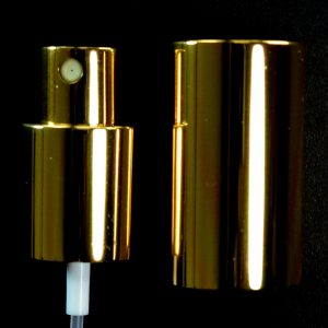 Spray Pump 20-410 Shiny Gold with Gold Hood_1664