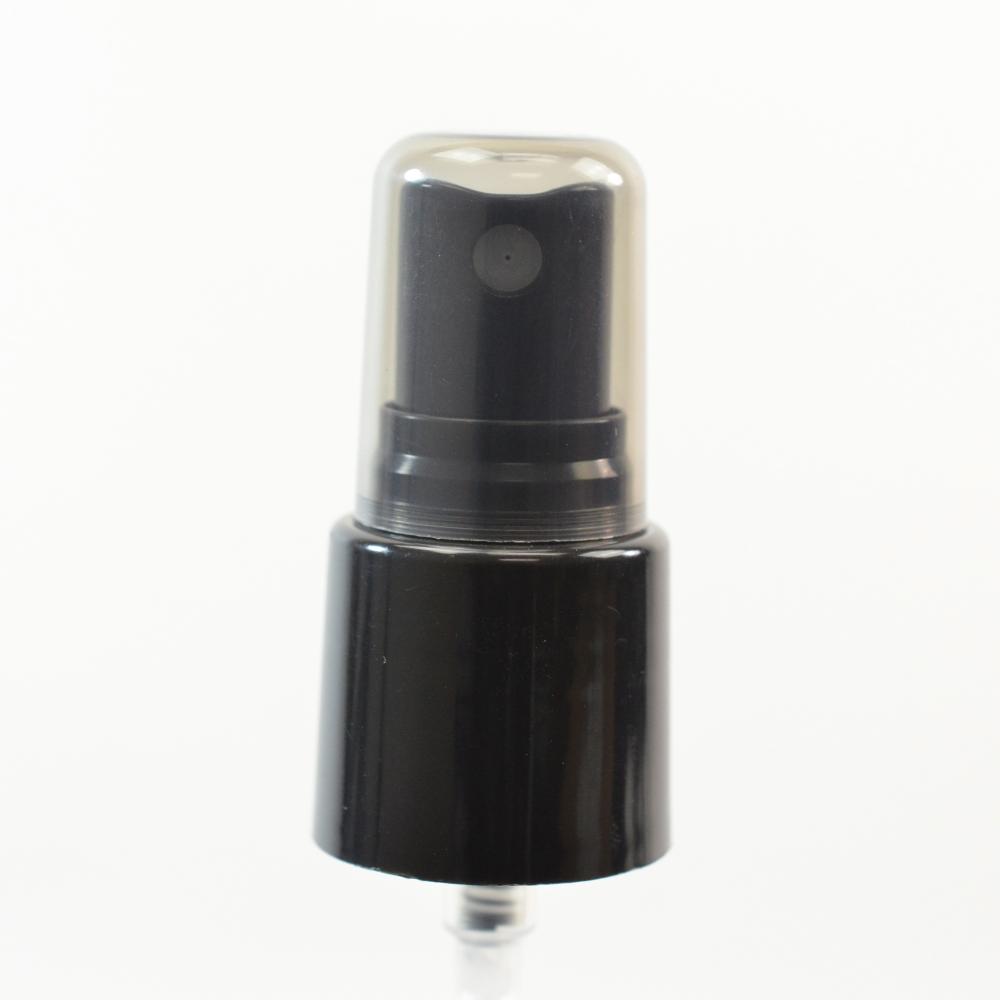 22/415 Smooth Black Fine Mist Sprayer PP Hood