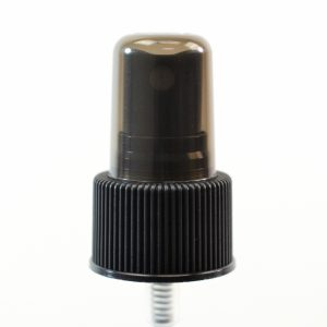Spray Pump 24-410 Fine Mist Black Ribbed DT_1642