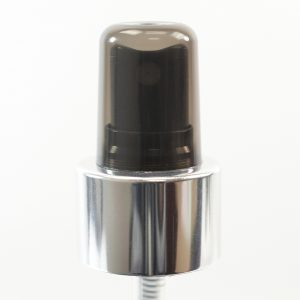Spray Pump 24-410 Fine Mist Black-Shiny Silver-Black Clarified DT_1711