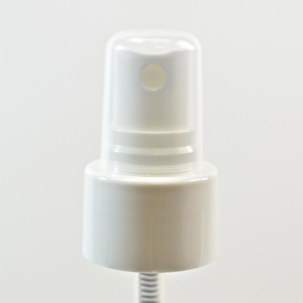 24/410 Smooth White Fine Mist Sprayer PP Hood DT 3 7/16″