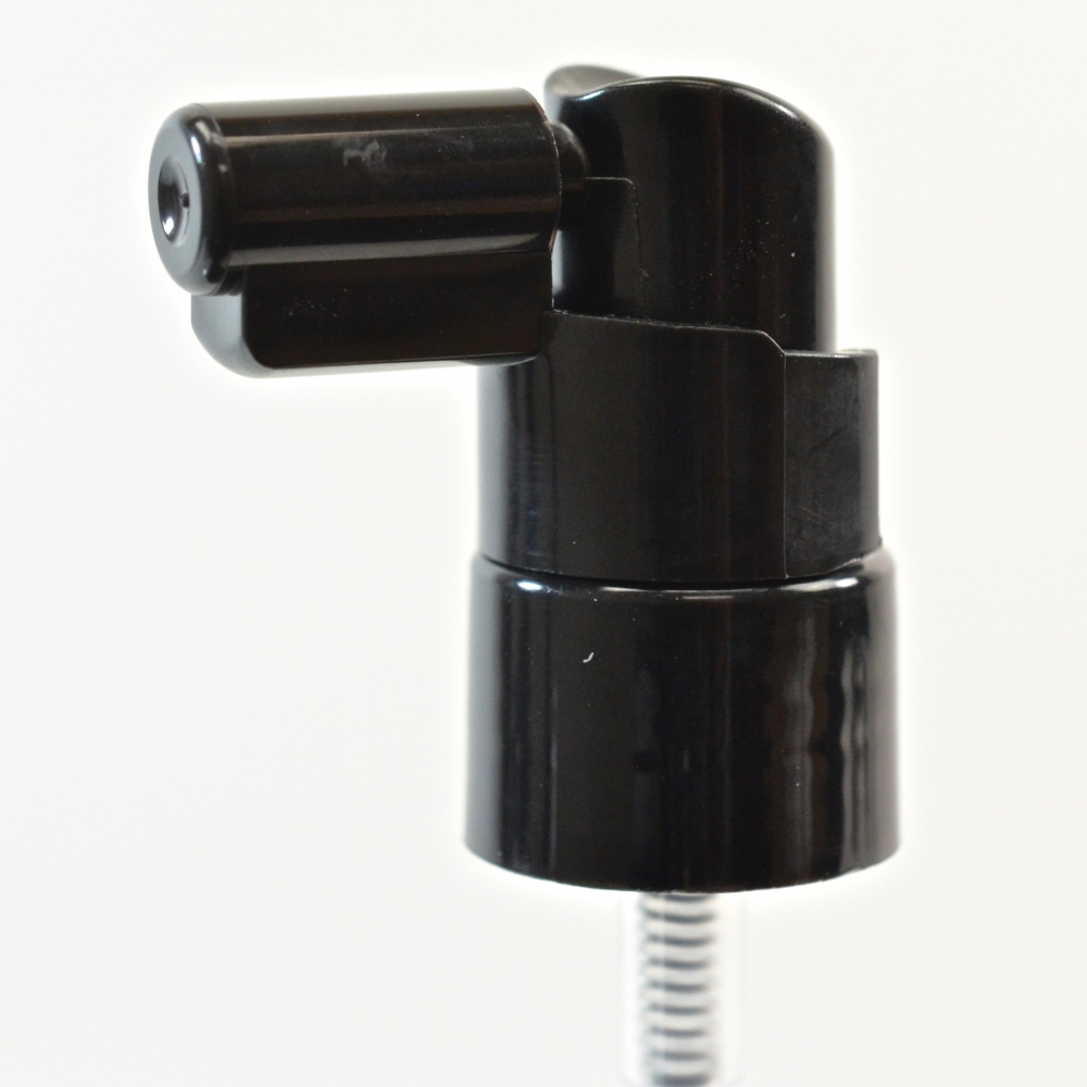 20/410 Smooth Black Fine Mist Sprayer Mark VI Extender PP Hood