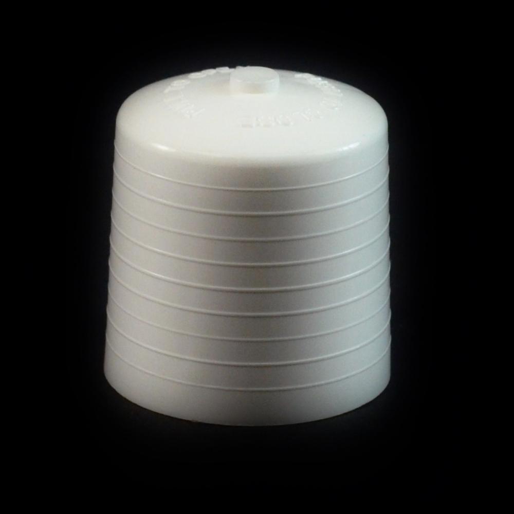 24/410 White Push Pull Convex Dispensing Symmetrical Cap to 2 oz #205