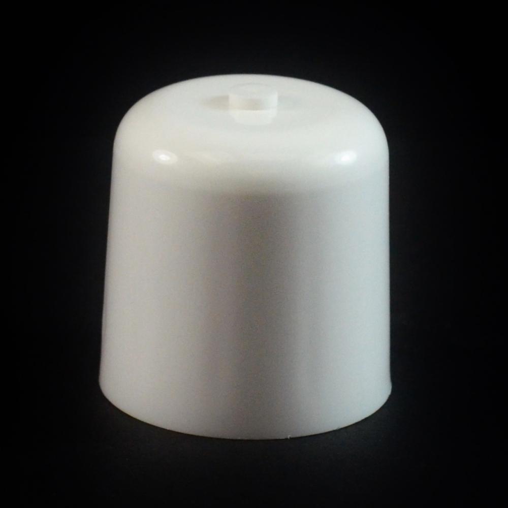 24/410 White Push Pull Soft Radius Dispensing Symmetrical Cap to 2 oz #220