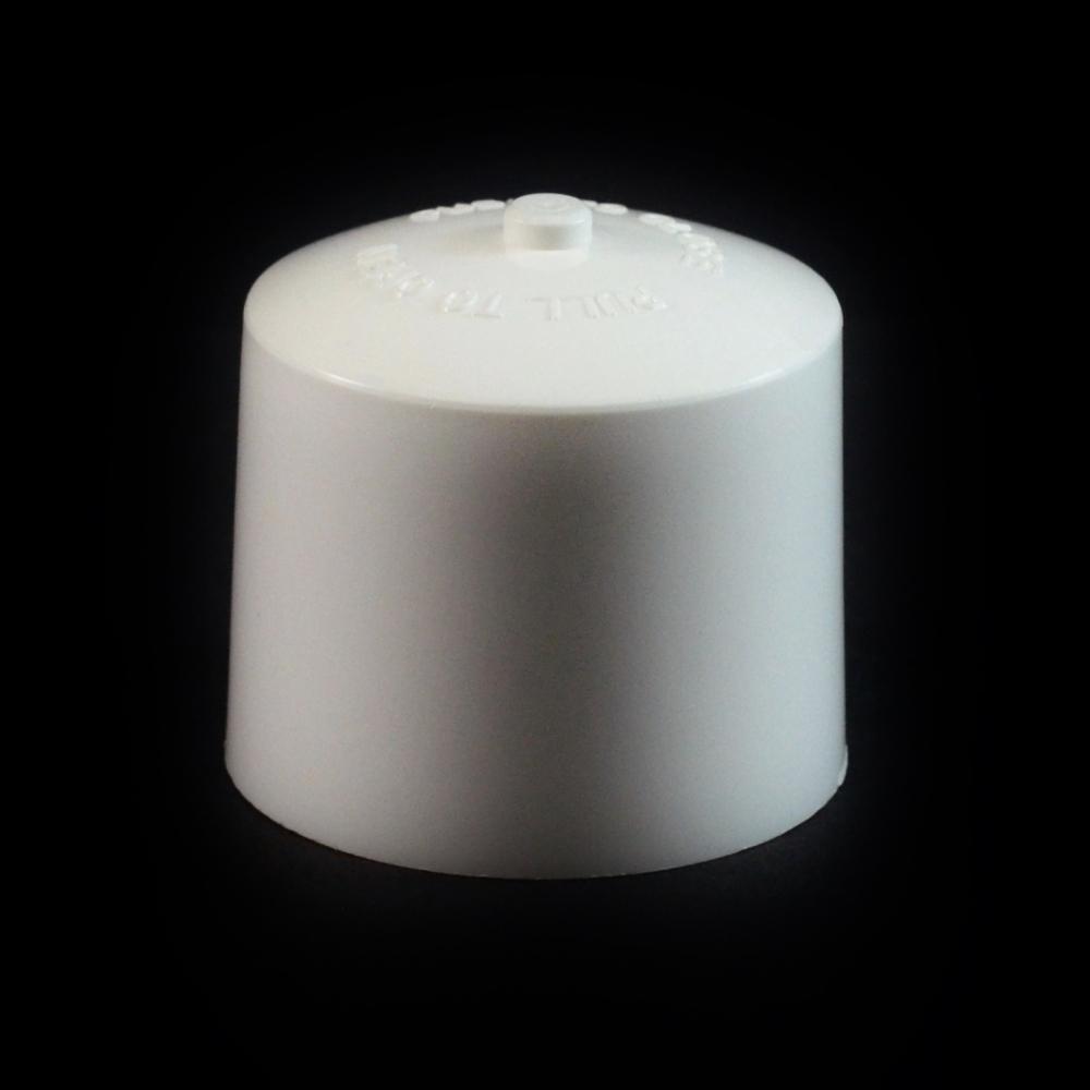 24/410 White Push Pull Convex Dispensing Symmetrical Cap to 4 oz #217