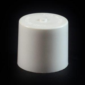 Symmetrical Cap - 24-410 White Push Pull to 4 oz #219_1961