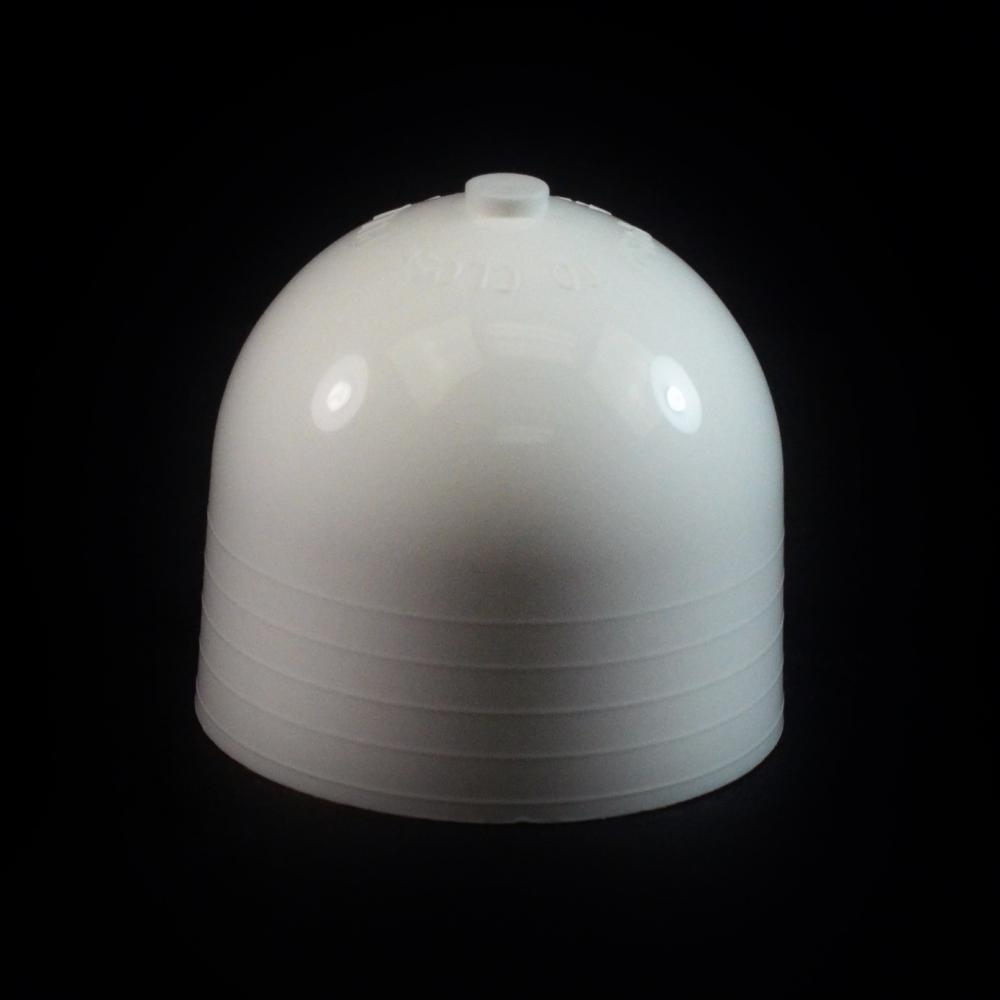 24/410 White Push Pull Dome Dispensing Symmetrical Cap to 4 oz #222