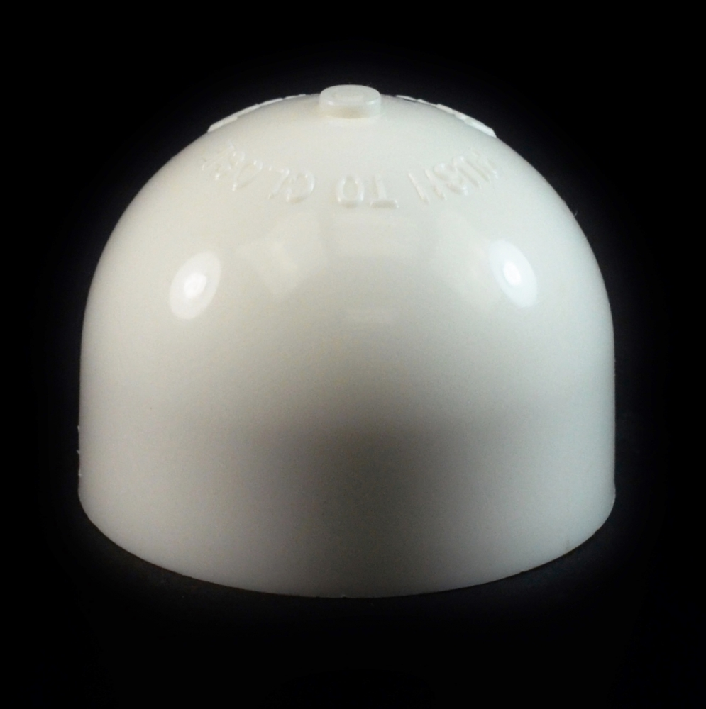 24/410 White Push Pull Dome Dispensing Symmetrical Cap to 8 oz #266