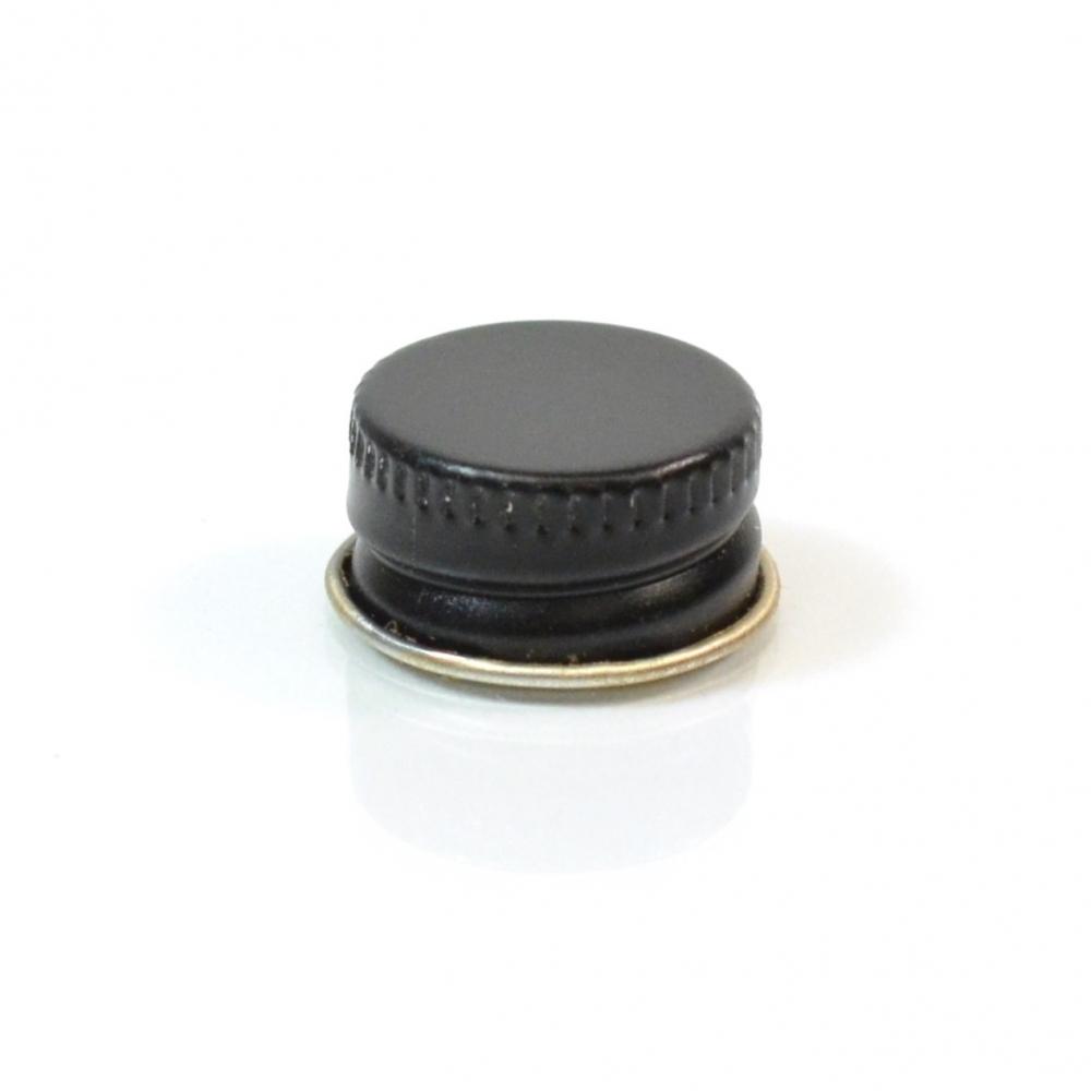 20/400 CT Black Gold Metal Continuous Thread Caps