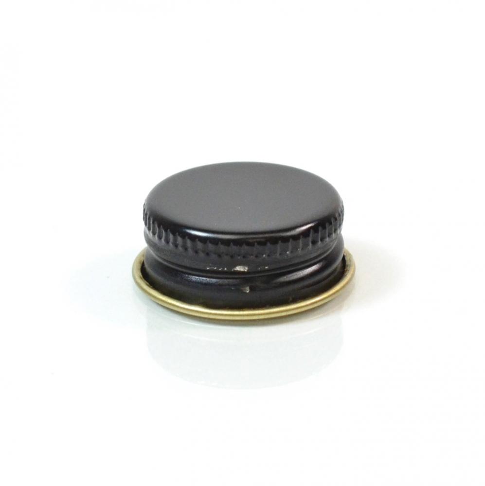 22/400 CT Black Gold Metal Continuous Thread Caps