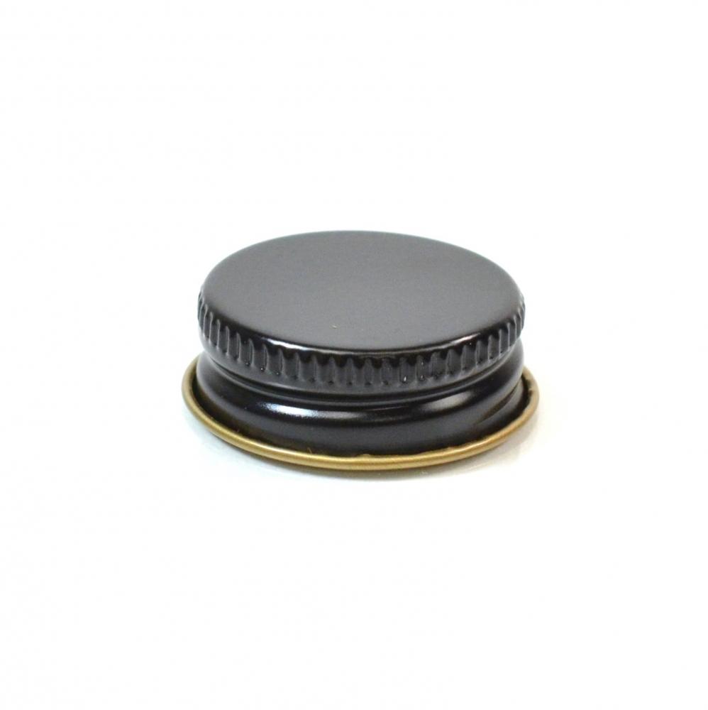 28/400 CT Black Gold Metal Continuous Thread Caps