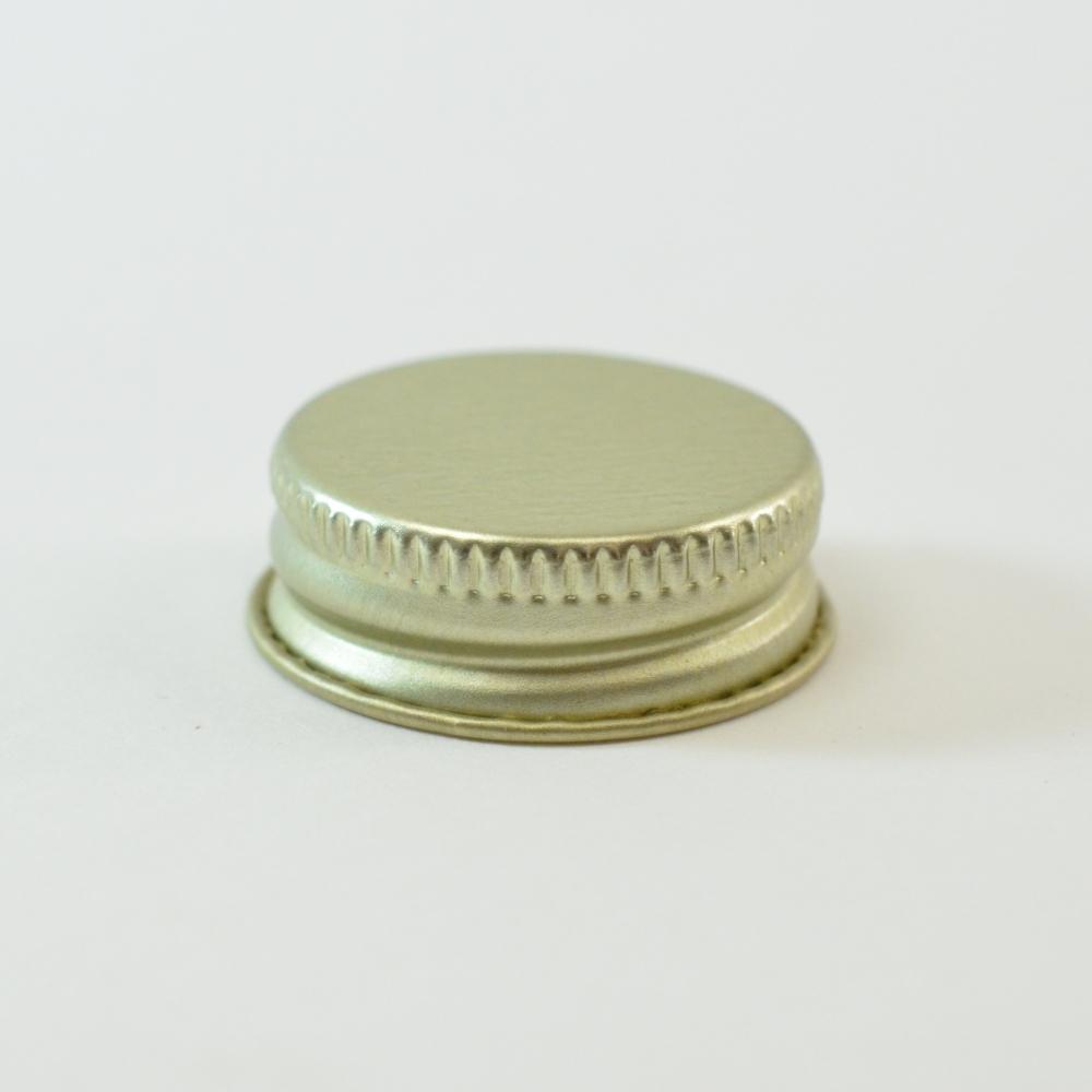 28/400 CT Gold Gold Metal Continuous Thread Caps