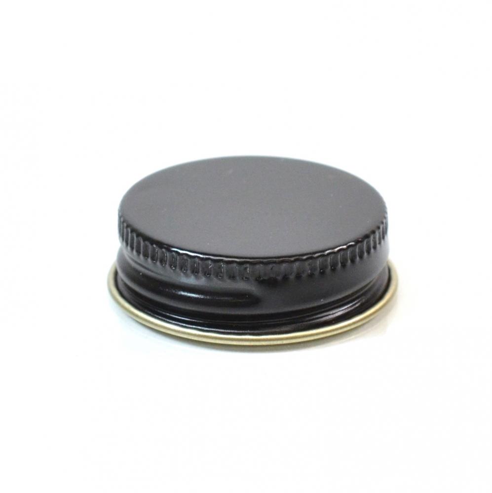 33/400 CT Black Gold Metal Continuous Thread Caps