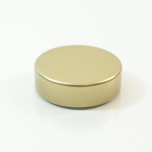 Tin Cap 33-400 Unishell Smooth Straight Sided Gold-Gold_1738