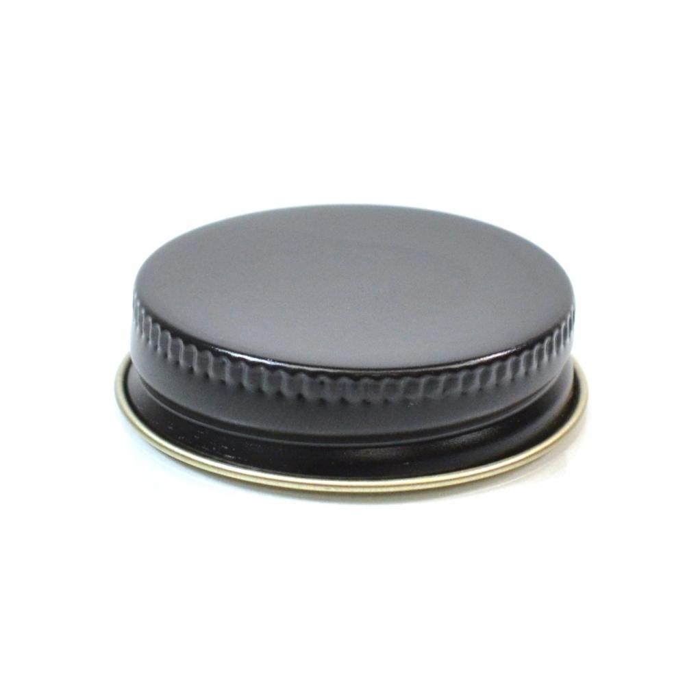 38/400 CT Black Gold Metal Continuous Thread Caps