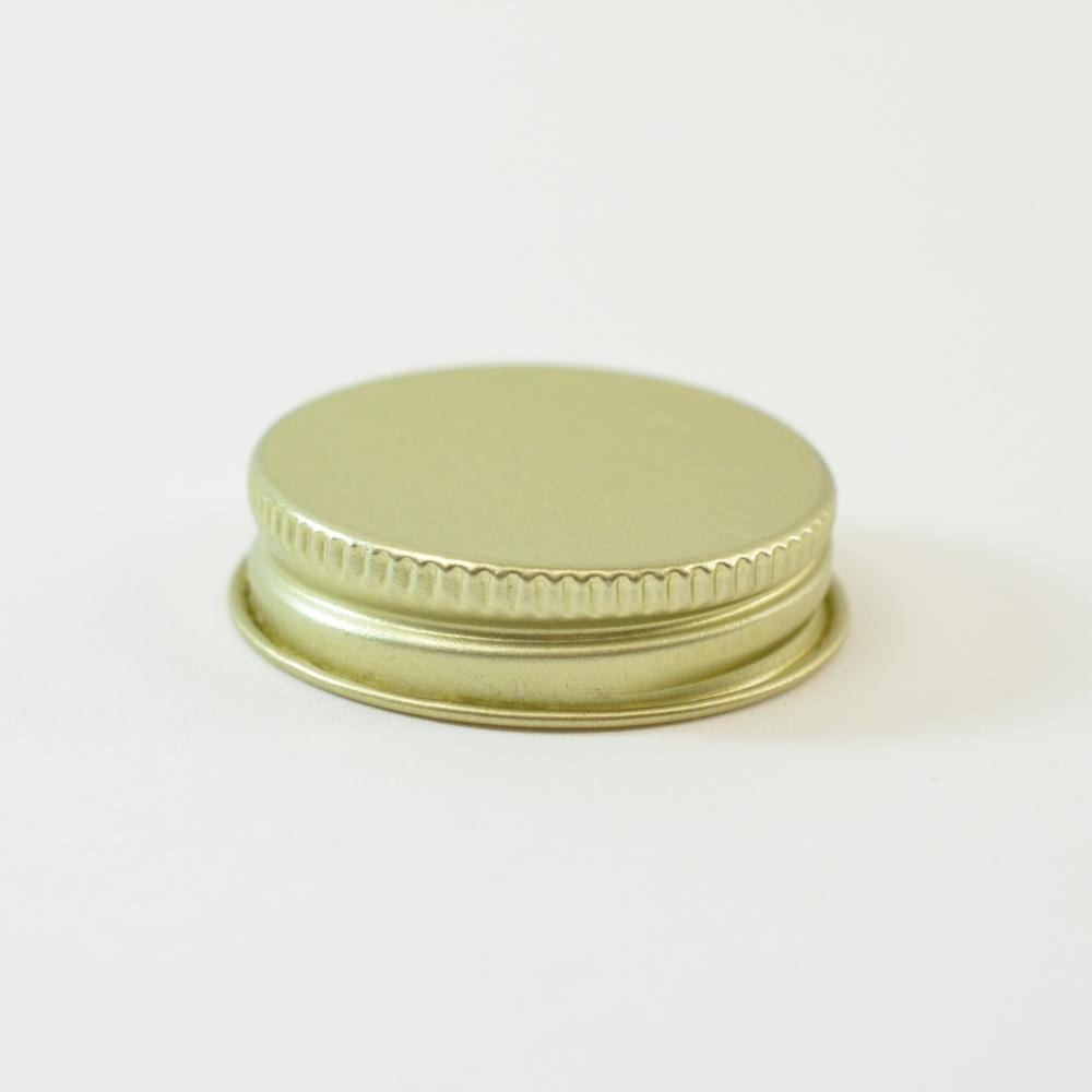 38/400 CT Gold Gold Metal Continuous Thread Caps