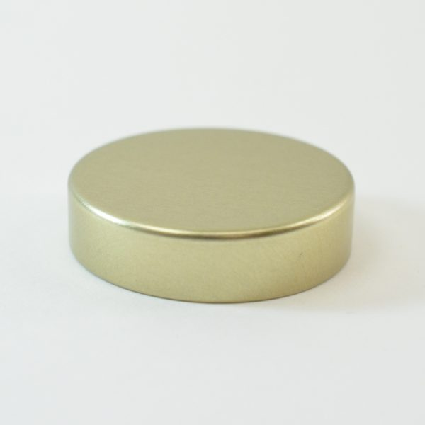Tin Cap 38-400 Unishell Smooth Straight Sided Gold-Gold_1739