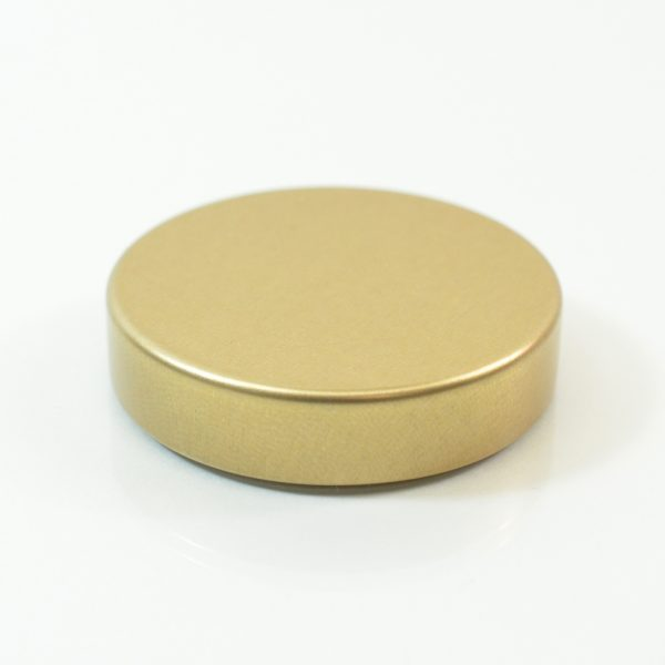 Tin Cap 43-400 Unishell Smooth Straight Sided Gold-Gold_1742