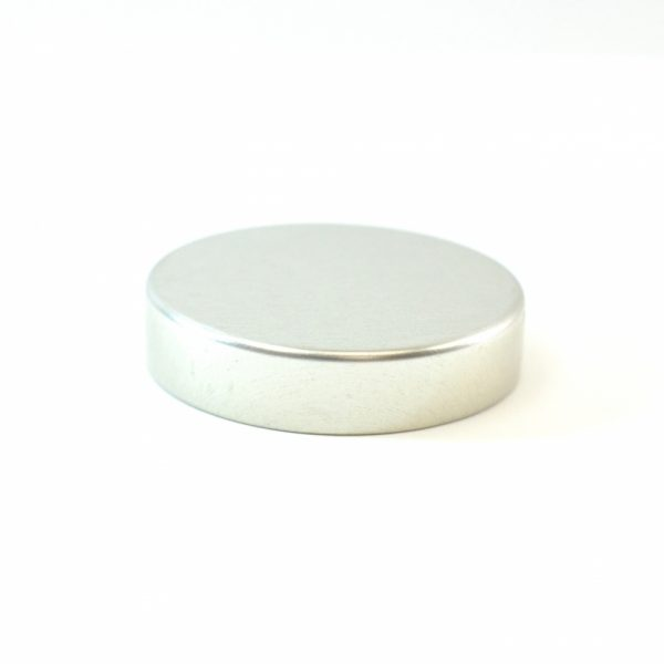 Tin Cap 43-400 Unishell Smooth Straight Sided Silver-Silver_1743