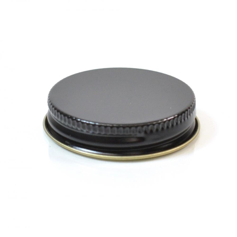 45/400 CT Black Gold Metal Continuous Thread Caps